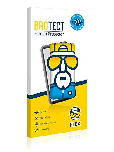 2X BROTECT Flex Full-Cover Bildschirmschutz Schutfolie für Runtastic Moment Elite (kristallklar, Edge to Edge, Self-Healing, stoßabsorbierend)