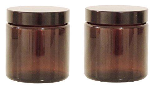 viva-haushaltswaren-2-cristal-tiegel-120-ml-pomada-tiegel-crema-tiegel-de-marron-cristal-incluye-eti