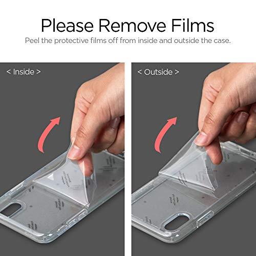 Spigen Coque iPhone 11 [Ultra Hybrid] Bumper Noir en TPU Souple, Dos Transparent Rigide en PC, Protection - [Air Cushion] Coque Compatible avec iPhone 11 (2019)