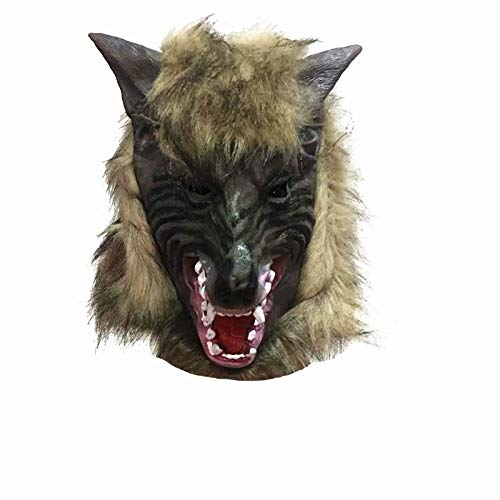 Quaan niedlich kreativ Halloween Karikatur Kürbis Party Cosplay Maske Terror Maske Wolf Geist Maske Cosplay Kostüm Party Halloween Vampir Zombie Party Zuhause Lager Geschenk Festival Dekorationen