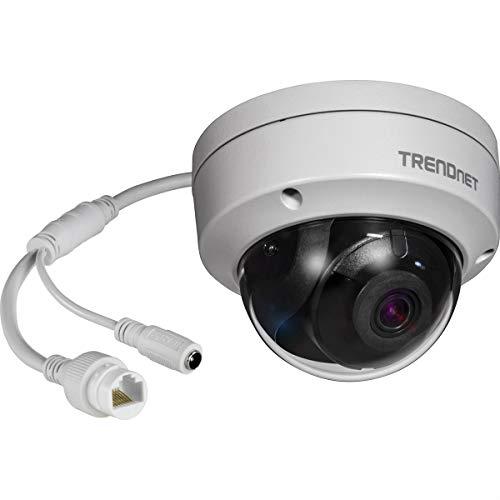 TRENDnet Indoor/ Outdoor 8MP 4K H.265 WDR Poe Dome Netzwerk Kamera, Nachtsicht bis zu 30 M (98 ft.), Schutzklasse IP67, 120dB WDR, MicroSD Kartenslot, TV-IP319PI