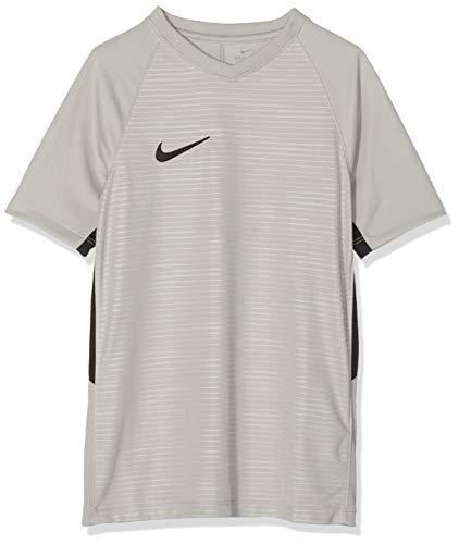 Nike Unisex Jungen Tiempo Premier SS Trikot T-shirt, Grau (pewter grey/Black/057), Gr. XL -