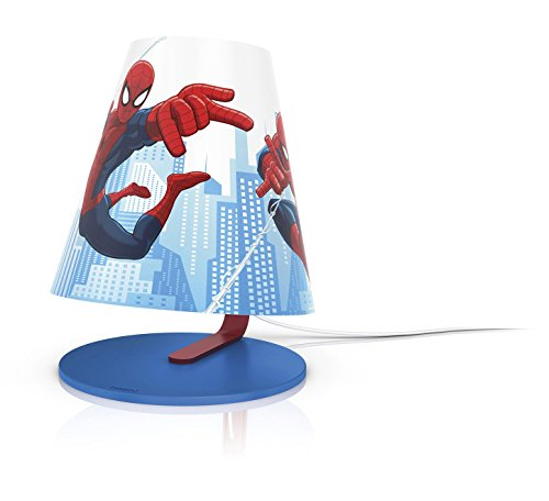 Image of Philips Marvel Spider-Man Children's Table Lamp Integrated LED, 1 x 4 W