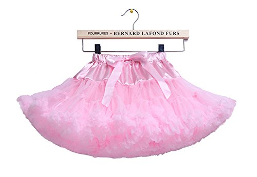 storeofbaby Girls' Layered Ruffle Tulle Ballet Tutu Skirt 0-10T