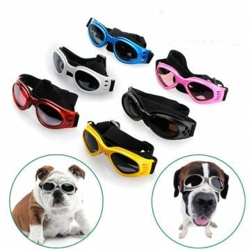 23b5546a5ec1 Pet Dogs UV Sun Glasse Eye-wear Protection Sunglasse --- Color Yellow