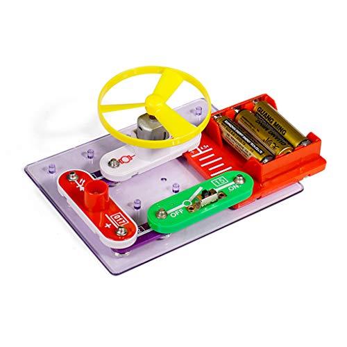 Quaan Pädagogische Schnellschaltungen Elektronik Entdeckungsblöcke Kit Wissenschaft Spielzeug Kinder DIY