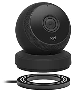 Logitech Circle Wireless HD Video Security Camera with 2-way talk Black