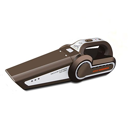 LEAJIA Auto Staubsauger, 4 in 1 Protable Handheld Selbststaubsauger Nass und trocken Dual-Use Mit LED-Lampe, Reifendruck Reifen, Reifenpumpe Funktion