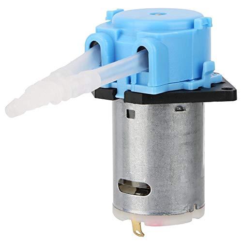 Keenso 24V Peristaltische Pumpe Dosierpumpe DIY Peristaltischer Rohrkopf für chemische Laboranalysen im Labor(blau)