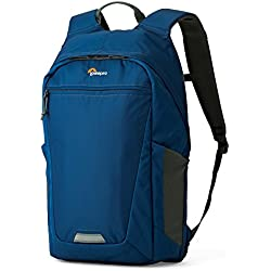 Lowepro BP 250 AW II – Hatchback Bolsa para cámara de fotos, color azul/gris