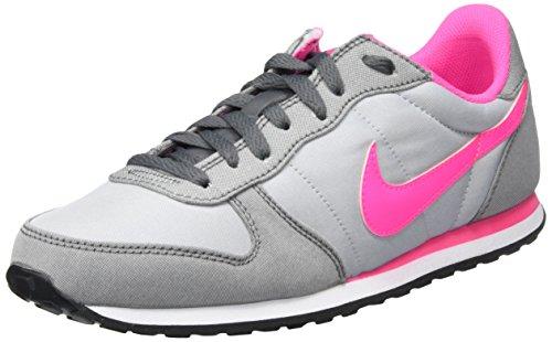 Nike Wmns Genicco Canvas, Entraînement de course femme Gris (Wolf Grey/Pink Blast/Dark Grey)