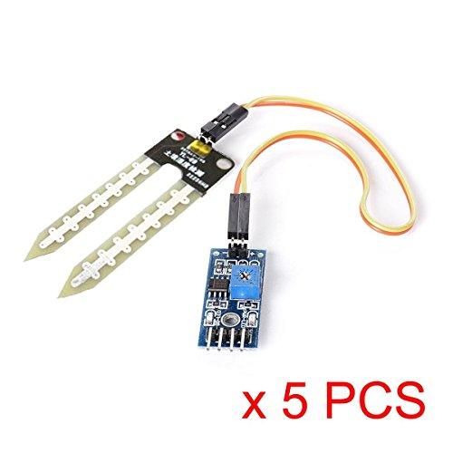 Amazon.es - Soil Hygrometer/ Soil Moisture Sensor YL-69/HL-69 For Arduino (5 pieces)