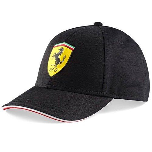 Gorra Scuderia Ferrari Oficial Clásica Negra
