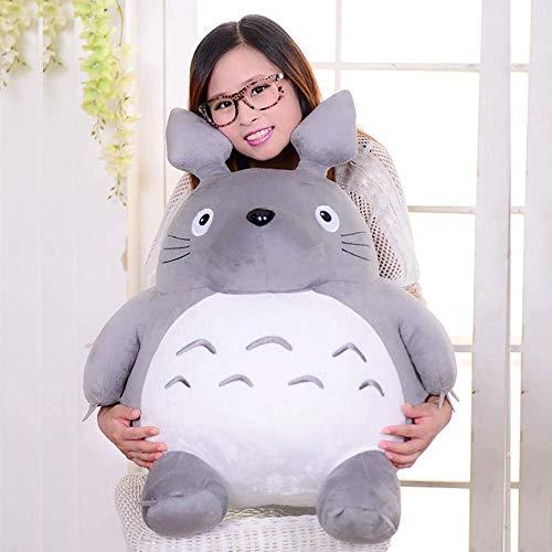 XPY Totoro Jumbo Totoro Plush Doll Plüsch Spielzeug Plüschbär Geburtstag Valentinstag Weihnachten, Grau,65cm