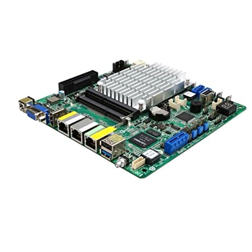 Asrock Rack J 1900D2Y Mini ITX Server Mainboard–Schwarz/Grün.