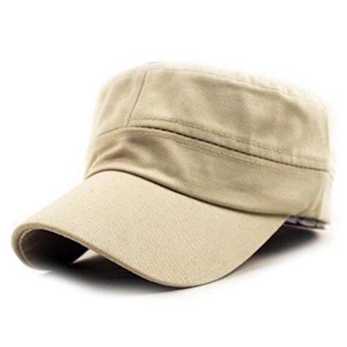 Malloom Sombrero del casquillo del llano clásico Vintage ejército mi