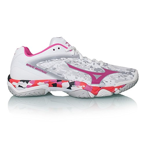 Mizuno Wave Mirage NB Women's Scarpe Da Netball - SS17 White