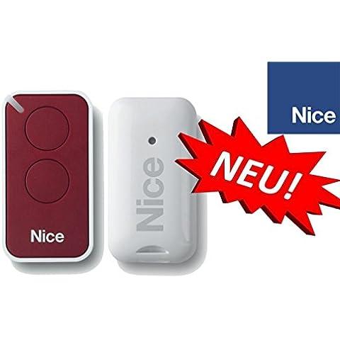 Nice INTI2R Mando a distancia original para puertas automáticas, botone, 433,92 MHz, rolling code!!!