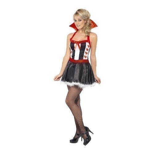 Königin der Herzen Damen Kostüm Smiffy`s (Königinnen Der Herzen Kostüme)