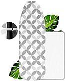 VINEL® NEU Bügelbrett-Bezug 120x40 - Das Bügel Wunder Nr.1 - Universeller Bügeltisch-Bezug mit Slim-Fit Funktion - Ideal für Ihr Dampfbügeleisen   100% Baumwolle