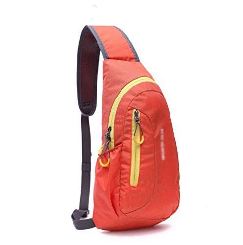 Männer und Frauen mit großer Kapazität Outdoor-Kletter Paket Orange