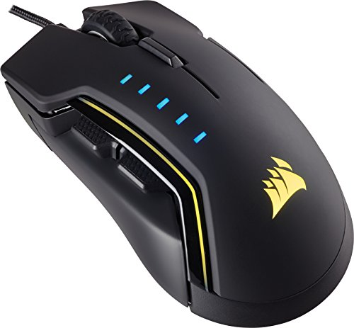 Corsair Gaming CH-9302111-EU Multi-Colour Backlit Performance 16000 DPI Optical Gaming Mouse