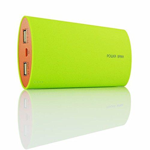 AAB Cooling Nonstop Power Bank Herro 12000mAh - Grün - Gute Qualität, Hohe Kapazität powerbank mit 2 USB-Anschlüss - Tragbares Externer Akku Ladegerät - Portable USB Charger