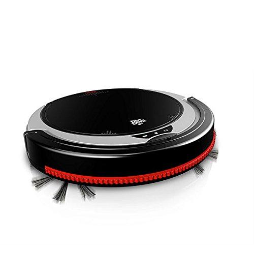 *Dirt Devil M613 Staubsauger Roboter,beutellos 0.24l, schwarz, rot*