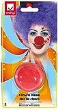 Smiffy's Smiffys Naso da clown, rosso, Spugna per Adulti, Multicolore, 164