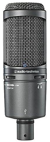 AUDIO TECHNICA MICROPHONE, STUDIO, CONDENSER, USB