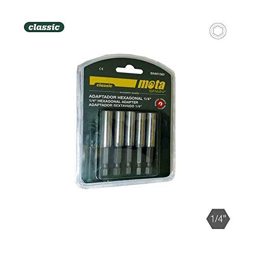 Pack 5 adaptateurs hexagonal magnétique 1 – 4 10 x 60 5P. bam1060