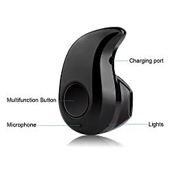 Scoria Mini Style Wireless Bluetooth Headphone Cute S530 1Pcs in Ear V4.0 Stealth Earphone Phone Headset Handfree Compatible for COOLPAD