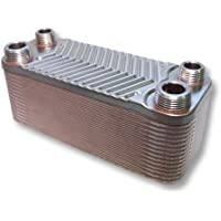 Intercambiador de calor Hrale acero inoxidable 30 platos max. Intercambiador de calor 66 kW plato
