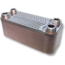 Hrale Edelstahl Wärmetauscher 30 Platten max 66 kW Plattenwärmetauscher Wärmetauscher