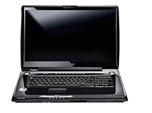 "Toshiba Qosmio G50-12F Ordinateur portable 18,4"" Intel Core 2 Duo P7450 DVDRW Webcam RAM 4 Go HDD 320 Go"