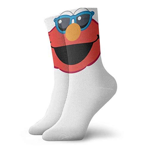 Zhengzho Lächelndes Gesicht mit Sonnenbrille Athletic 30cm Socken Söckchen Sport Casual Socken Baumwolle Crew Socken für Männer Frauen