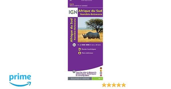 Carte Ign Afrique Du Sud.Amazon Fr 85120 Afrique Du Sud Swaziland Lesotho 1 2m
