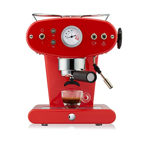Illy FrancisFrancis! X1 Ground Espressomaschine rot
