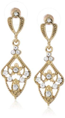 (Downton Abbey Damen-Ohrringe Glas 4.445 cm - 17609)