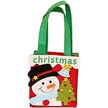 Billty - Bolso de Navidad para niños, Bolsa de Almacenamiento de Dulces, Bolsa de