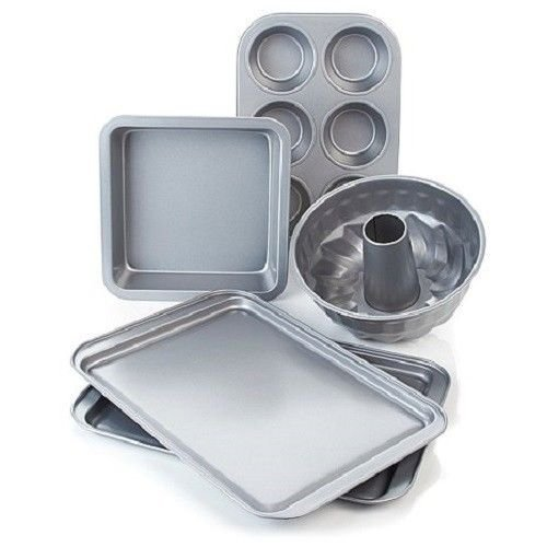 Wolfgang Puck Bistro Elite 5 piece Non-Stick Bakeware Set Cookware by Wofgang Puck