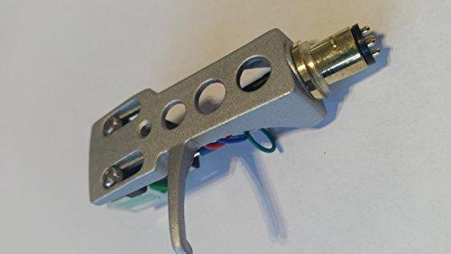 Cartucho de Audio Technica AT95E + cubierta protectora ligera para tocadiscos HiFi DJ