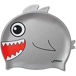 Finis Swim - Gorro de natación infantil, tamaño Cero, color gris