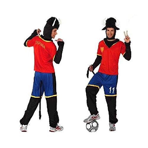 Juguetes Fantasia - Kostüm Stier Fußballer Spanien