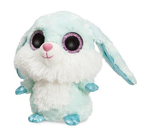 Aurora- YooHoo Conejo de Ojos Brillantes, 20 cm, Color Azul (0060060760)
