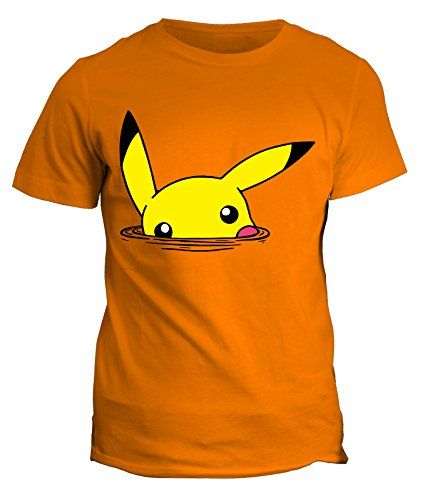 Tshirt Pika- cartoon cartoni - in cotone by Fashwork Arancione