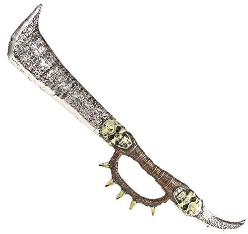 Kostüm Krieger Erwachsene Für Wikinger - Riesen Totenkopf Schwert Ork-Krieger Wikinger Kampfschwert Mystischer Dolch Erwachsenen Kostüm