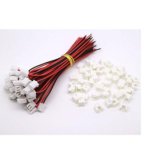 Preisvergleich Produktbild 10 Sätze Jst Xh 2.5-2 Pin Batterieanschluss -Stecker Female & Male mit 120 mm Draht