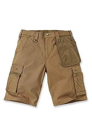 Carhartt Shorts EMEA Multipocket Ripstop, Größe:W 38, Color:carhartt brown