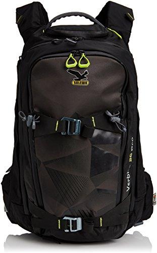 Salewa, Zaino Abs Verbier 26 Pro Abs Backpack, Nero/carbon, Taglia unica [Importato da Germania]